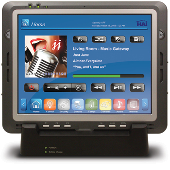 OmniTouch 10pe Touchscreen in Docking Cradle