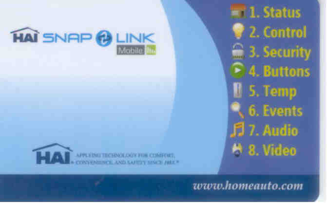 Snap-Link Mobile Card